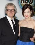 Elizabeth McGovern and Simon Curtis (l)