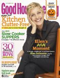 Ellen De Generes on the cover of Good Housekeeping (United States) - October 2011