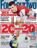 Jack Wilshere on the cover of Four Four Two (United Kingdom) - June 2011