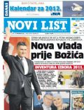 Novi List Magazine [Croatia] (6 December 2011)