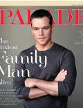 Matt Damon on the cover of Parade (United States) - December 2011