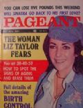 Elizabeth Taylor on the cover of Pageant (United States) - May 1974