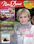 Patricia Kaas on the cover of Nous Deux (France) - October 2012