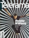 Robbie Williams on the cover of Telerama (France) - December 2002