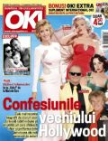 Elizabeth Taylor, Jack Nicholson, Jane Fonda, Marilyn Monroe, Rod Stewart on the cover of Ok (Romania) - October 2012