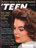 Mikki Jamison on the cover of Teen (United States) - April 1962