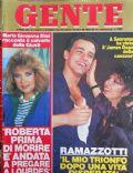 Gente Magazine [Italy] (28 February 1986)