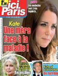 Kate Middleton on the cover of Ici Paris (France) - April 2014