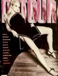 Ellen Barkin on the cover of Detour (United States) - January 1995