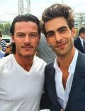 Luke Evans and Jon Kortajarena