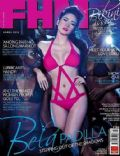 Bela Padilla on the cover of Fhm (Philippines) - March 2012