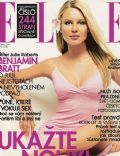 Simona Krainová on the cover of Elle (Czech Republic) - April 2001