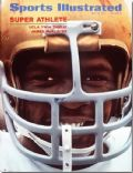 James McAlister on the cover of Sports Illustrated (United States) - May 1971