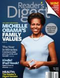Michelle Obama on the cover of Readers Digest (United States) - January 2012