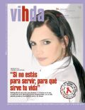 Sabrina Garciarena on the cover of Vihda (Argentina) - December 2009