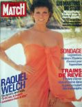 Raquel Welch on the cover of Paris Match (France) - June 1985