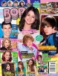 Bella Thorne, Big Time Rush, Cody Simpson, Cody Simpson and Bella Thorne, Demi Lovato, Justin Bieber, Justin Bieber and Demi Lovato, Justin Bieber and Selena Gomez, Katy Perry, Selena Gomez, Taylor Lautner, Taylor Lautner and Selena Gomez, Taylor Lautner and Taylor Swift, Taylor Swift, Victoria Justice, Victoria Justice and Taylor Lautner on the cover of Bop (United States) - September 2011