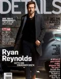 Ryan Reynolds on the cover of Details (United States) - August 2013
