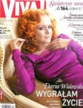Daria Widawska on the cover of Viva (Poland) - April 2009