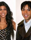 Taj Jackson and Kourtney Kardashian