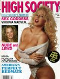 Sandra Scream on the cover of High Society (United States) - March 1991