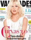Liz Solari on the cover of Vanidades (Argentina) - October 2013