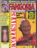 Cassandra Peterson on the cover of Fangoria (United States) - September 1988