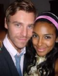 Marsha Thomason and Craig Sykes