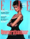 Claudia Schiffer on the cover of Elle (Netherlands) - January 1993