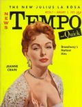 Jeanne Crain on the cover of Tempo (United States) - January 1955