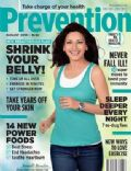 Sonali Bendre on the cover of Prevention (India) - August 2010