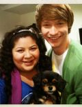 Raini Rodriguez and Calum Worthy