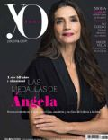 Ángela Molina on the cover of Yo Dona (Spain) - December 2013