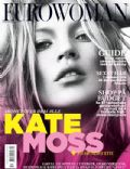 Kate Moss on the cover of Eurowoman (Denmark) - January 2010