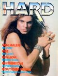 David Lee Roth on the cover of Hard Rock Magazine (France) - December 1984