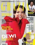 Dewi Sandra on the cover of Grazia (Indonesia) - December 2010