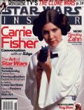 Carrie Fisher on the cover of Star Wars Insider (United States) - June 2003