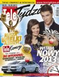 Mikolaj Roznerski on the cover of Tele Tydzie (Poland) - January 2013