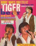 Bobby Sherman on the cover of Tiger Beat (United States) - March 1970
