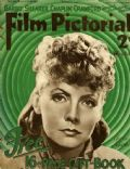 Greta Garbo on the cover of Film Pictorial (United Kingdom) - October 1935
