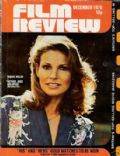 Raquel Welch on the cover of Film Review (United Kingdom) - December 1976