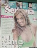 Andrea Frigerio on the cover of Semana (Argentina) - November 2004