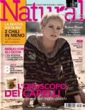 Andrea Osvárt on the cover of Natural Style (Italy) - February 2009