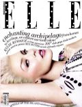 Kylie Minogue on the cover of Elle (Indonesia) - August 2013