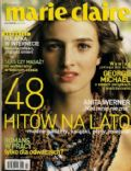 on the cover of Marie Claire (Poland) - July 2004