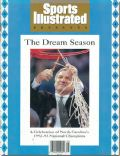 Dean Smith on the cover of Sports Illustrated (United States) - April 1993