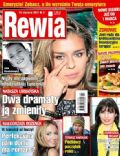 Natasza Urbanska on the cover of Rewia (Poland) - January 2013