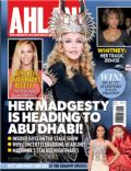 Madonna on the cover of Ahlan (United Arab Emirates) - February 2012