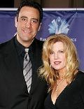 Brad Garrett and Jill Diven