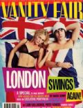 Liam Gallagher, Patsy Kensit on the cover of Vanity Fair (United Kingdom) - March 1997